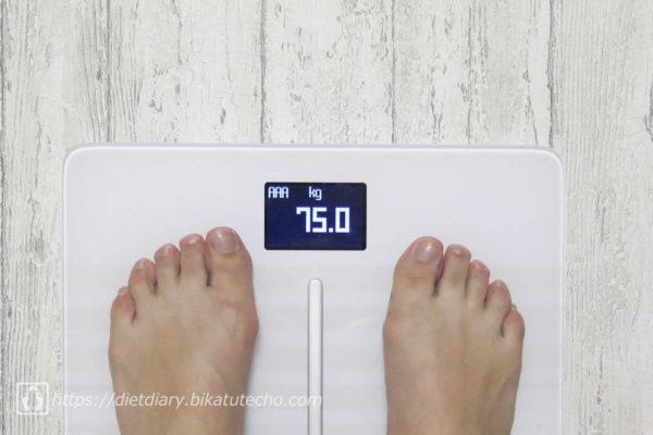 2017年5月14日朝の体重