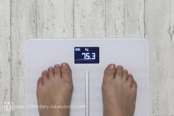 2017年5月15日朝の体重