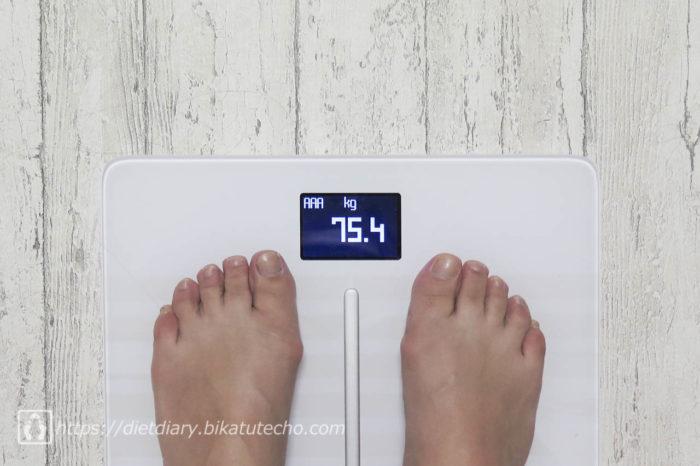 2017年5月15日夜の体重