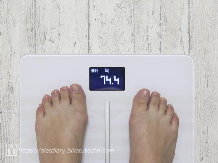 2017年5月17日朝の体重