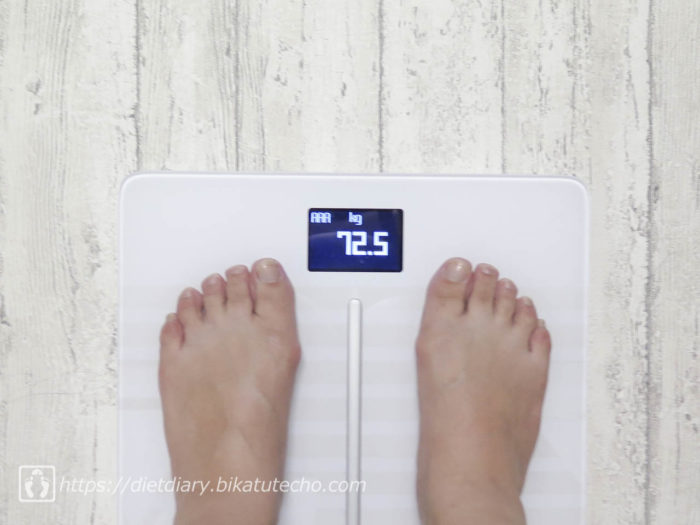 2017年5月27日夜の体重