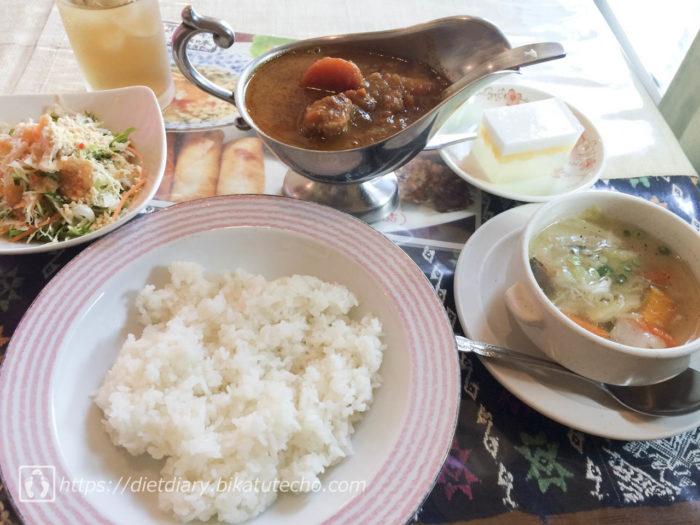 2017年5月28日昼の食事
