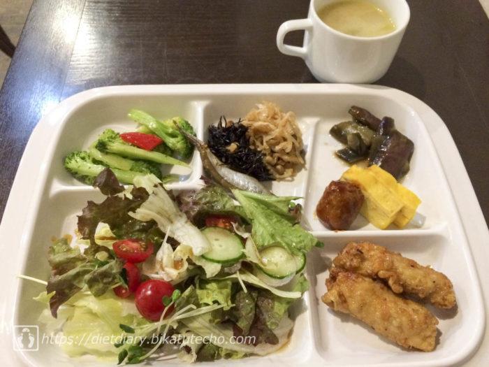 2017年6月22日昼の食事