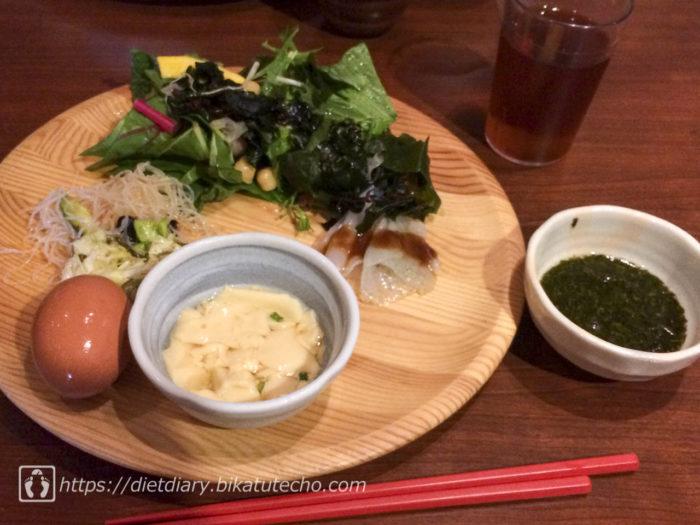 2017年7月1日昼の食事