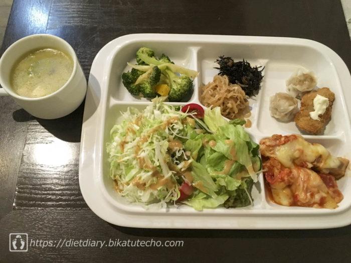 2017年7月12日昼の食事