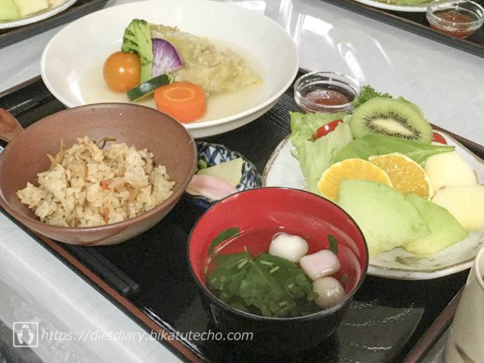 2017年7月26日昼の食事