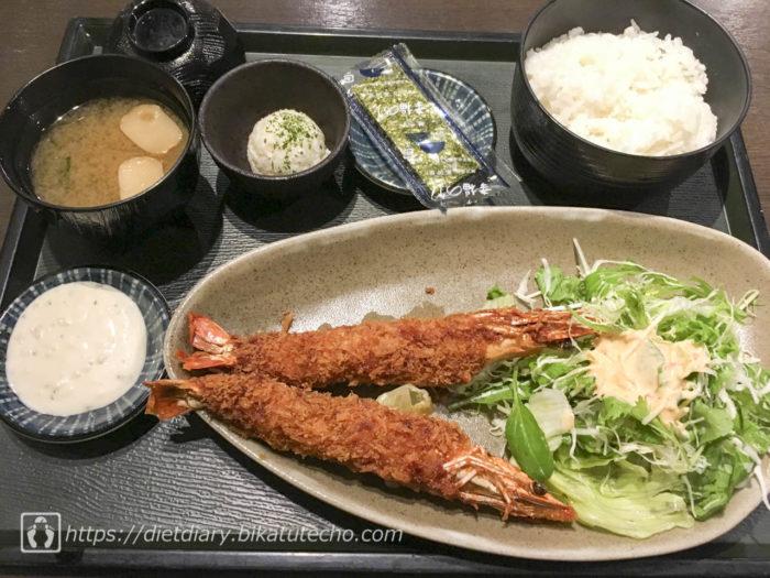 2017年8月1日昼の食事