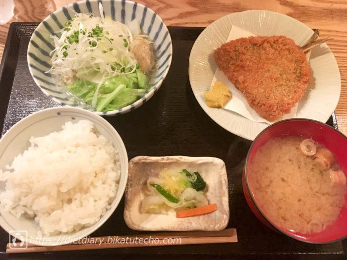 2017年9月6日昼の食事