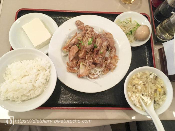2017年9月28日昼の食事