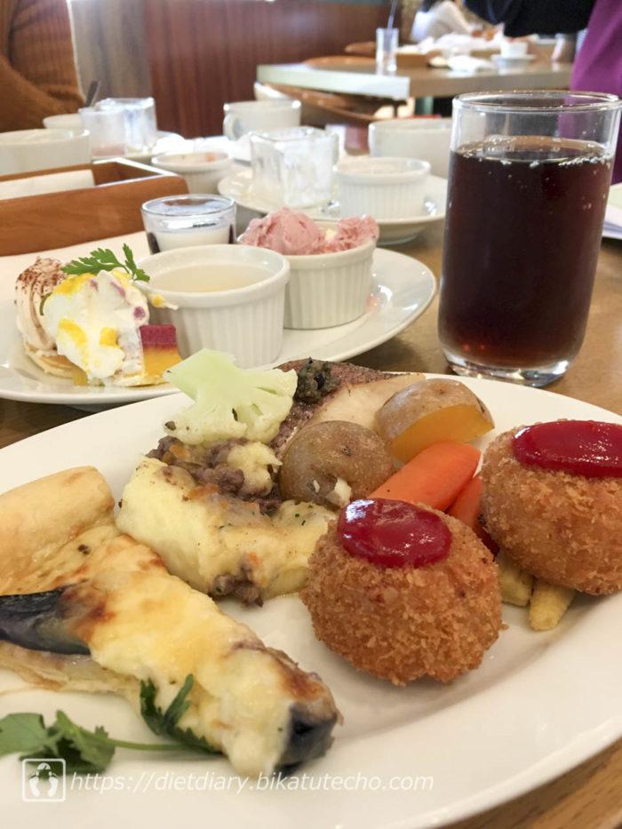 2017年10月1日昼の食事