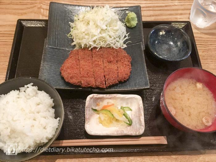 2017年10月4日昼の食事