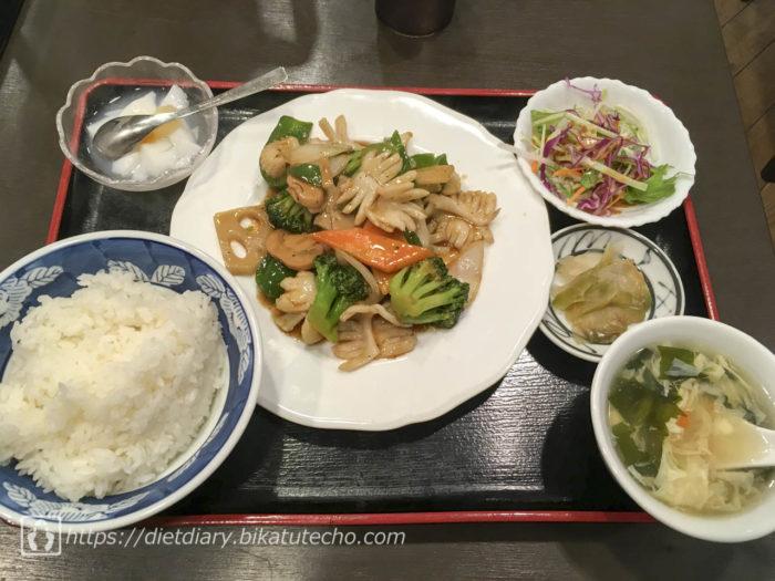 2017年10月11日昼の食事