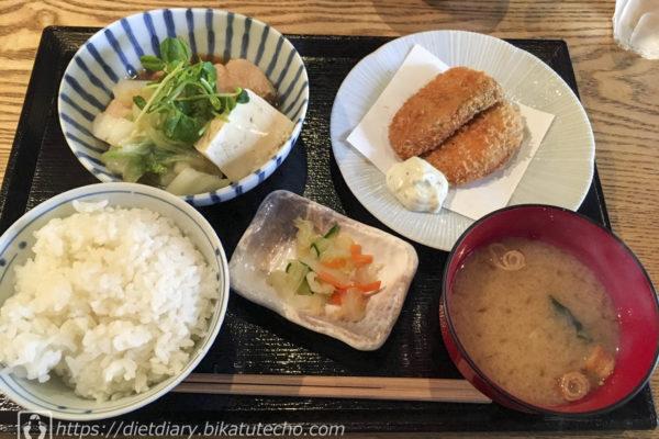 2017年10月18日昼の食事