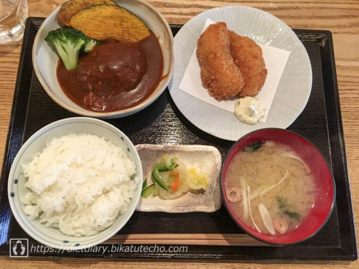 2017年10月30日昼の食事